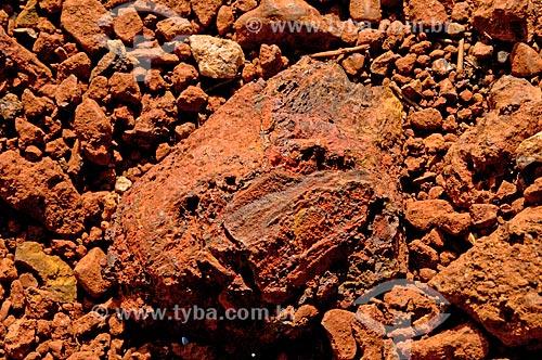 Assunto: Pedra de minério de ferro - hematite / Local: Mariana - Minas Gerais (MG) - Brasil / Data: 01/2014