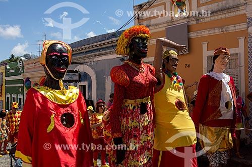 Assunto: Bloco Eu Acho é Pouquinho - Carnaval de rua - centro histórico / Local: Olinda - Pernambuco (PE) - Brasil / Data: 03/2014