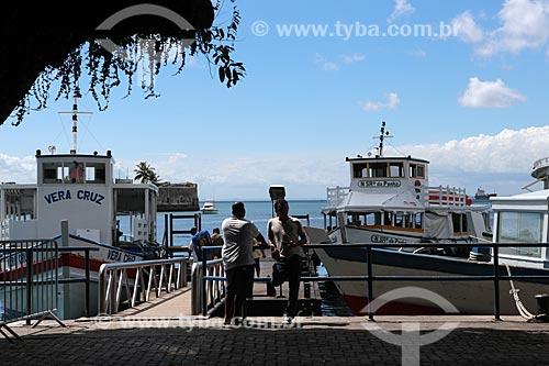 Assunto: Barcos no Centro Náutico da Bahia / Local: Salvador - Bahia (BA) - Brasil / Data: 02/2014