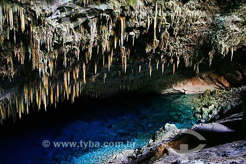 Assunto: Gruta do Lago Azul / Local: Bonito - Mato Grosso do Sul (MS) - Brasil / Data: 04/2008