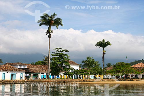 Assunto: Baía de Paraty com casarios / Local: Paraty - Rio de Janeiro (RJ) - Brasil / Data: 12/2007