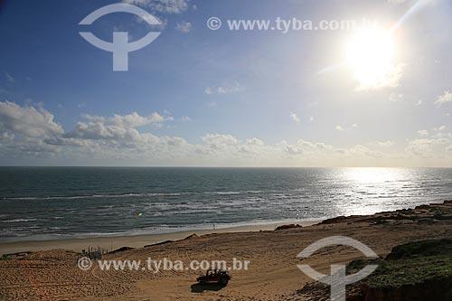 Assunto: Bugre em praia de Canoa Quebrada / Local: Aracati - Ceará (CE) - Brasil / Data: 02/2014