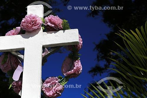 Assunto: Cruz no Cemitério São João Batista / Local: Fortaleza - Ceará (CE) - Brasil / Data: 03/2014