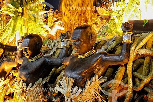Assunto: Desfile do Grêmio Recreativo Escola de Samba Unidos de Vila Isabel - Carro alegórico - Enredo 2014 - Retratos de um Brasil plural / Local: Rio de Janeiro (RJ) - Brasil / Data: 03/2014
