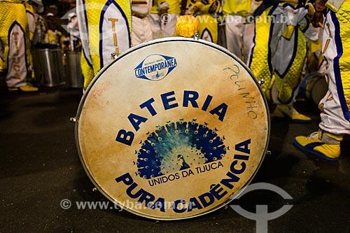 Assunto: Desfile do Grêmio Recreativo Escola de Samba Unidos da Tijuca - Bateria - Enredo 2014 - Acelera, Tijuca! / Local: Rio de Janeiro (RJ) - Brasil / Data: 03/2014