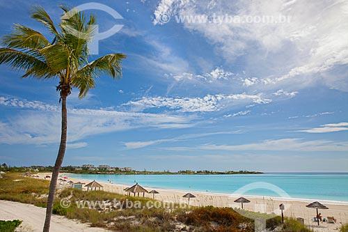 Assunto: Vista de praia em Bahamas / Local: Bahamas - América Central / Data: 06/2013