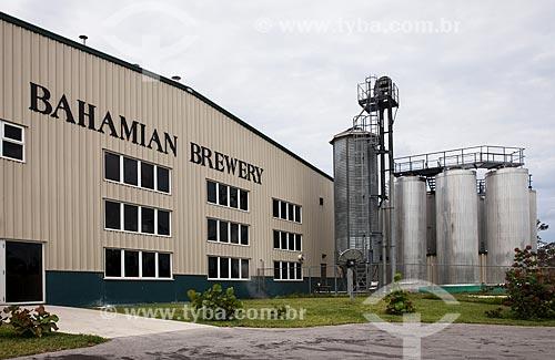 Assunto: Fachada da Bahamian Brewery / Local: Grande Bahama - Bahamas - América Central / Data: 06/2013