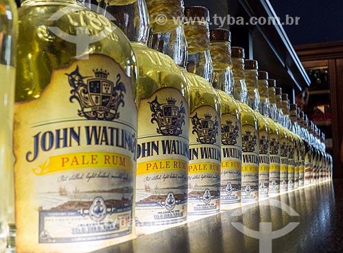 Assunto: Garrafas do rum John Watling / Local: Bahamas - América Central / Data: 06/2013