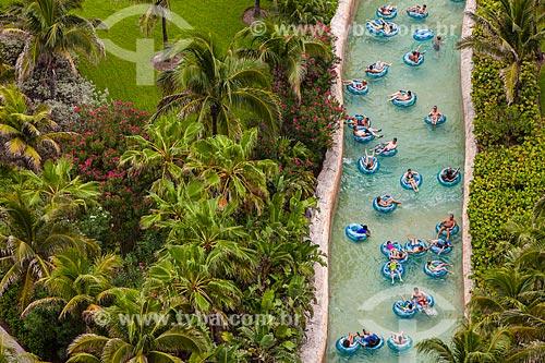 Assunto: Rio artificial no Atlantis Paradise Island Resort / Local: Ilha Paraíso - Bahamas - América Central / Data: 06/2013