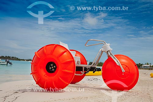 Assunto: Triciclo aquático / Local: Bahamas - América Central / Data: 06/2013
