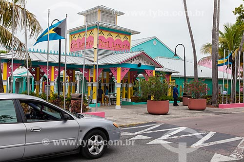 Assunto: Fachada do Port Lucaya Marketplace / Local: Grande Bahama - Bahamas - América Central / Data: 06/2013