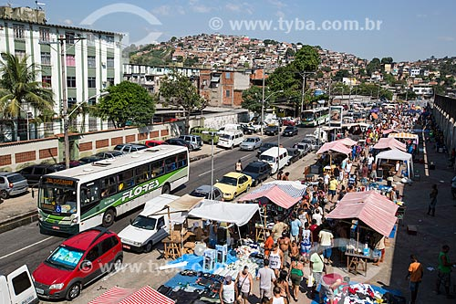 Assunto: Feira de Acari próxima à Estação Acari/Fazenda Botafogo do metrô / Local: Acari - Rio de Janeiro (RJ) - Brasil / Data: 01/2014