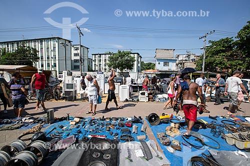 Assunto: Mercadoria à venda na Feira de Acari / Local: Acari - Rio de Janeiro (RJ) - Brasil / Data: 01/2014