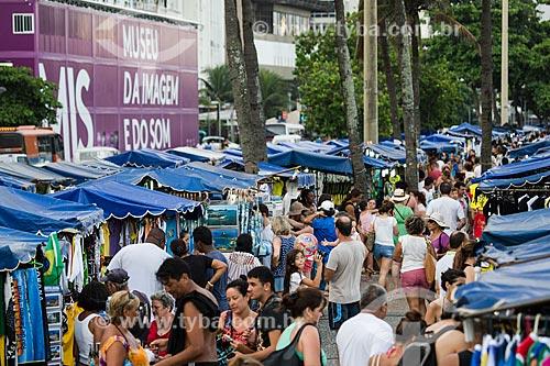 Assunto: Feira na orla de Copacabana / Local: Copacabana - Rio de Janeiro (RJ) - Brasil / Data: 01/2014