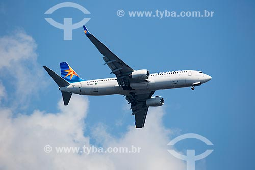 Assunto: Avião da VARIG sobrevoando o Rio de Janeiro / Local: Rio de Janeiro (RJ) - Brasil / Data: 01/2014