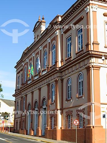 Assunto: Palácio Municipal Coronel Diniz Martins Rangel (1908) / Local: Taquara - Rio Grande do Sul (RS) - Brasil / Data: 12/2013