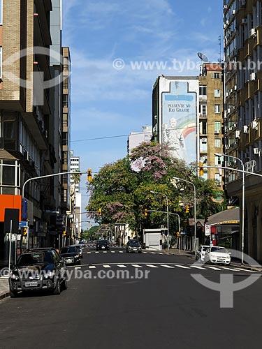 Assunto: Vista geral da Avenida Siqueira Campos / Local: Porto Alegre - Rio Grande do Sul (RS) - Brasil / Data: 03/2014