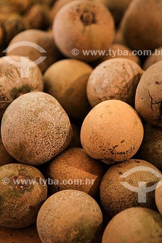 Assunto: Fruto do piquiá no Mercado Ver-o-peso / Local: Belém - Pará (PA) - Brasil / Data: 03/2014