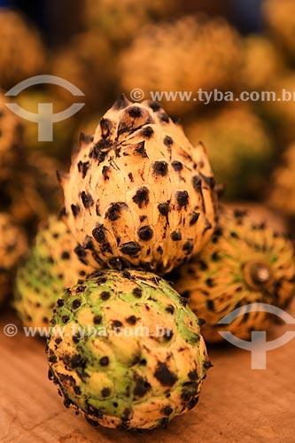 Assunto: Fruto do biribazeiro no Mercado Ver-o-peso / Local: Belém - Pará (PA) - Brasil / Data: 03/2014