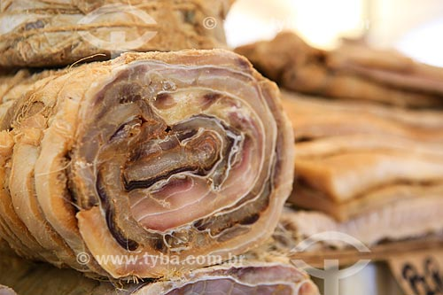 Assunto: Postas de Pirarucu (Arapaima gigas) no Mercado Ver-o-peso / Local: Belém - Pará (PA) - Brasil / Data: 03/2014