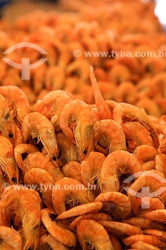 Assunto: Camarões para venda no Mercado Ver-o-peso / Local: Belém - Pará (PA) - Brasil / Data: 03/2014