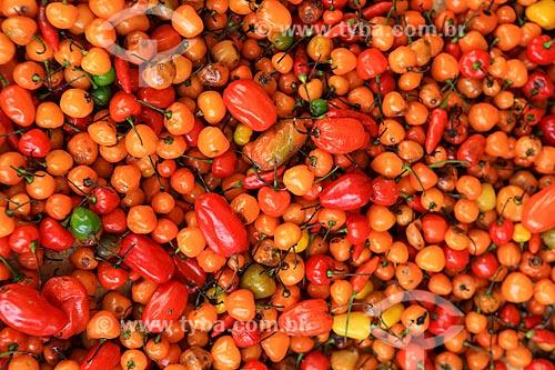 Assunto: Pimenta no Mercado Ver-o-peso / Local: Belém - Pará (PA) - Brasil / Data: 03/2014