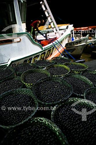 Assunto: Feira do Açaí - Mercado Ver-o-peso / Local: Belém - Pará (PA) - Brasil / Data: 03/2014
