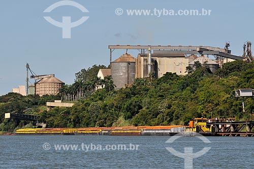 Assunto: Região Portuária no Rio Paranaíba / Local: São Simão - Goiás (GO) - Brasil / Data: 02/2014
