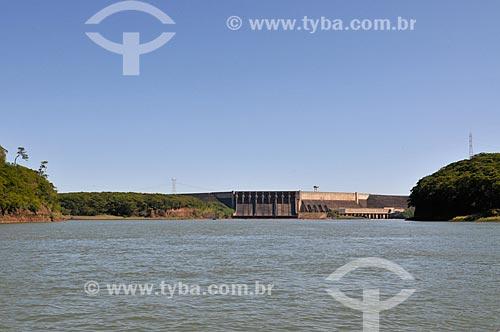 Assunto: Usina Hidrelétrica São Simão - Rio Paranaíba - Divisa entre os estados de Goiás e Minas Gerais / Local: São Simão - Goiás (GO) - Brasil / Data: 02/2014