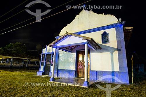 Assunto: Fachada da Igreja de Nossa Senhora do Rosário / Local: Pará (PA) - Brasil / Data: 10/2012