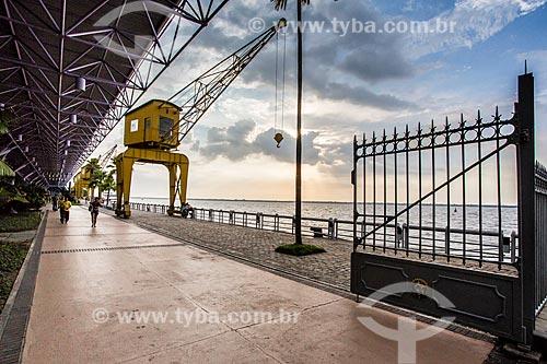 Assunto: Estação das Docas (2000) - anteriormente parte do Porto de Belém / Local: Belém - Pará (PA) - Brasil / Data: 10/2013