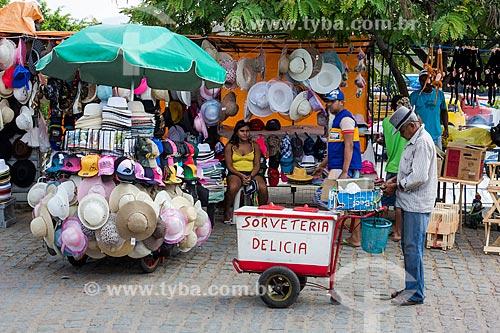 Assunto: Comércio ambulante em Juazeiro do Norte / Local: Juazeiro do Norte - Ceará (CE) - Brasil / Data: 10/2012