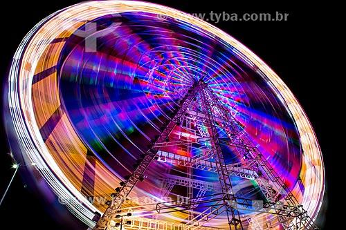 Assunto: Roda-gigante em parque de diversões / Local: Rio de Janeiro (RJ) - Brasil / Data: 09/2013