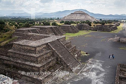 Assunto: Ruínas de Teotihuacan / Local: San Juan Teotihuacán - México - América do Norte / Data: 11/2013