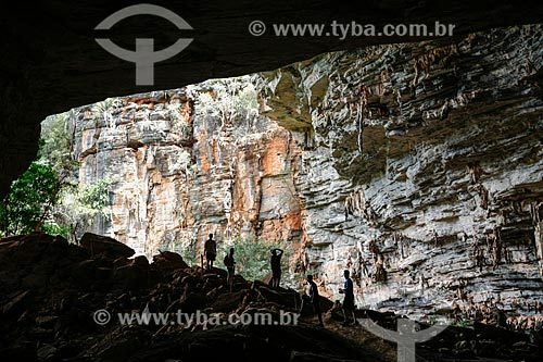 Assunto: Entrada da Gruta da Lapa Doce no Parque Nacional da Chapada Diamantina / Local: Bahia (BA) - Brasil / Data: 04/2013