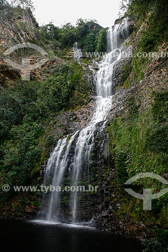 Assunto: Cachoeira da Farofa no Parque Nacional da Serra do Cipó / Local: Jaboticatubas - Minas Gerais (MG) - Brasil / Data: 06/2009