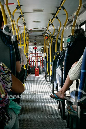 Assunto: Interior de ônibus no Rio de Janeiro / Local: Rio de Janeiro (RJ) - Brasil / Data: 06/2013