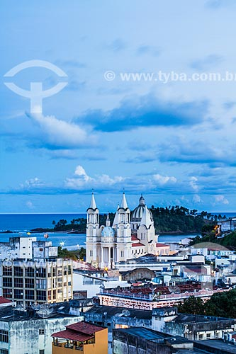 Assunto: Vista da cidade de Ilhéus a partir do Mirante da Conquista / Local: Ilhéus - Bahia (BA) - Brasil / Data: 02/2014