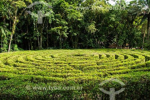 Assunto: Labirinto no Parque Malwee / Local: Jaraguá do Sul - Santa Catarina (SC) - Brasil / Data: 03/2014