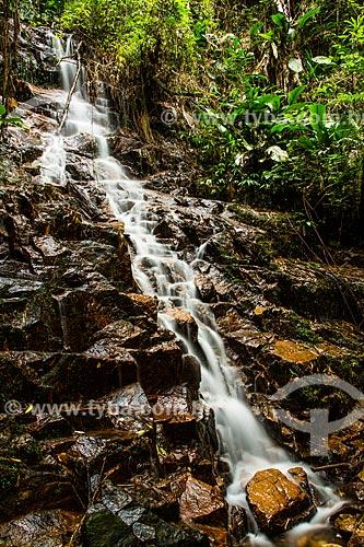 Assunto: Cachoeira no Parque Ecológico do Santuário Nossa Senhora de Angelina / Local: Angelina - Santa Catarina (SC) - Brasil / Data: 04/2014