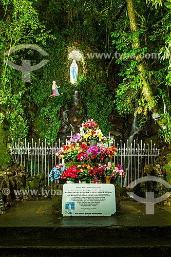 Assunto: Gruta Nossa Senhora de Lourdes, no Parque Ecológico do Santuário Nossa Senhora de Angelina / Local: Angelina - Santa Catarina (SC) - Brasil / Data: 04/2014