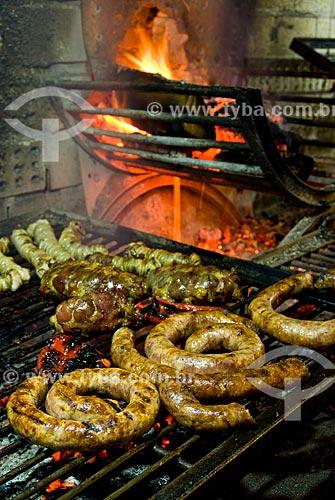 Assunto: Parrilla - Típico churrasco uruguaio / Local: Jaguarão - Rio Grande do Sul (RS) - Brasil / Data: 12/2009