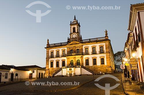 Assunto: Museu da Inconfidência - antiga Casa de Câmara e Cadeia de Vila Rica / Local: Ouro Preto - Minas Gerais (MG) - Brasil / Data: 06/2012