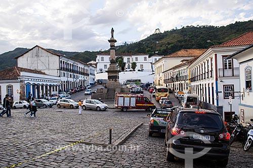 Assunto: Monumento a Tiradentes  / Local: Ouro Preto - Minas Gerais (MG) - Brasil / Data: 06/2012