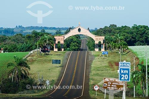 Assunto: Rota Missões / Local: São Miguel das Missões - Rio Grande do Sul (RS) - Brasil / Data: 06/2012