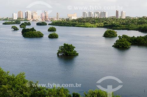 Assunto: Vista da Lagoa da Jansen / Local: São Luís - Maranhão (MA) - Brasil / Data: 07/2012