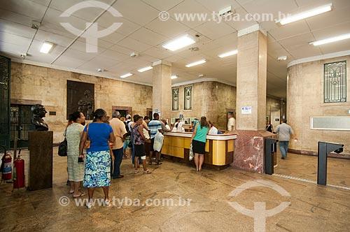 Assunto: Recepção do Hospital dos Servidores do Estado / Local: Rio de Janeiro (RJ) - Brasil / Data: 08/2010
