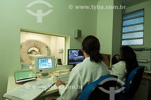 Assunto: Aparelho de tomografia do Hospital dos Servidores do Estado   / Local: Rio de Janeiro (RJ) - Brasil / Data: 08/2010