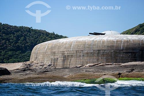 Assunto: Vista do Forte do Imbuí (1863) / Local: Niterói - Rio de Janeiro (RJ) - Brasil / Data: 03/2014