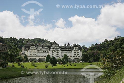 Assunto: Palácio Quitandinha (1944) - também conhecido como Hotel Quitandinha / Local: Quitandinha - Petrópolis - Rio de Janeiro (RJ) - Brasil / Data: 03/2012